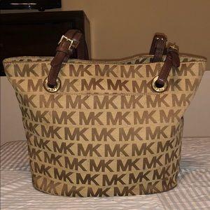 Michael Kors  Mk Signature Brown Khaki